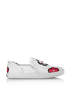 kate spade new york - Women's Lima Floral Slip-On Sneakers