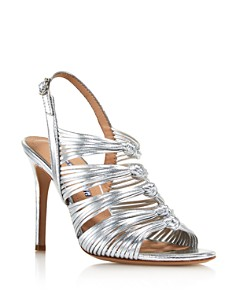 Charles David - Women's Crest Knotted High-Heel Sandals