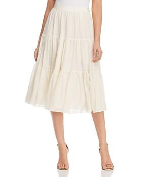 Tory Burch - Textured Silk Skirt