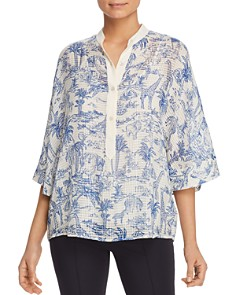 Tory Burch - Tessa Printed Silk Top