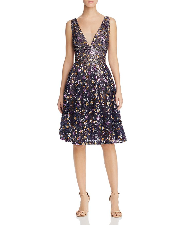 BRONX AND BANCO - Barbara Embellished Party Dress