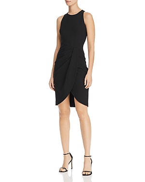 Black Halo Dresses BRETT DRAPED DRESS