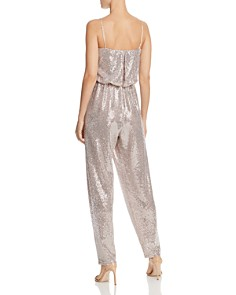 Eliza J - Sleeveless Metallic Jumpsuit