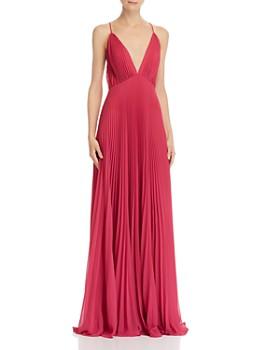 e9606e74fee97 Jill Jill Stuart - Pleated Deep-V Gown ...