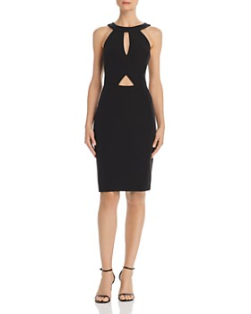 Laundry by Shelli Segal - Cutout Cocktail Dress