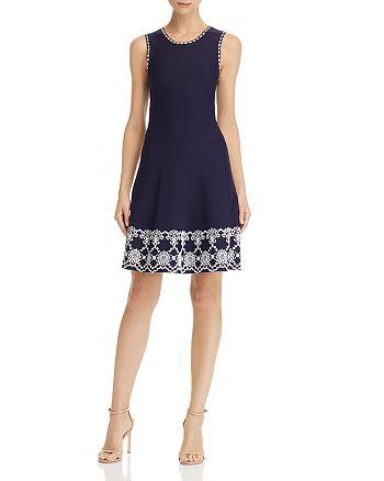 Shoshanna - Caterina Knit Jacquard Dress