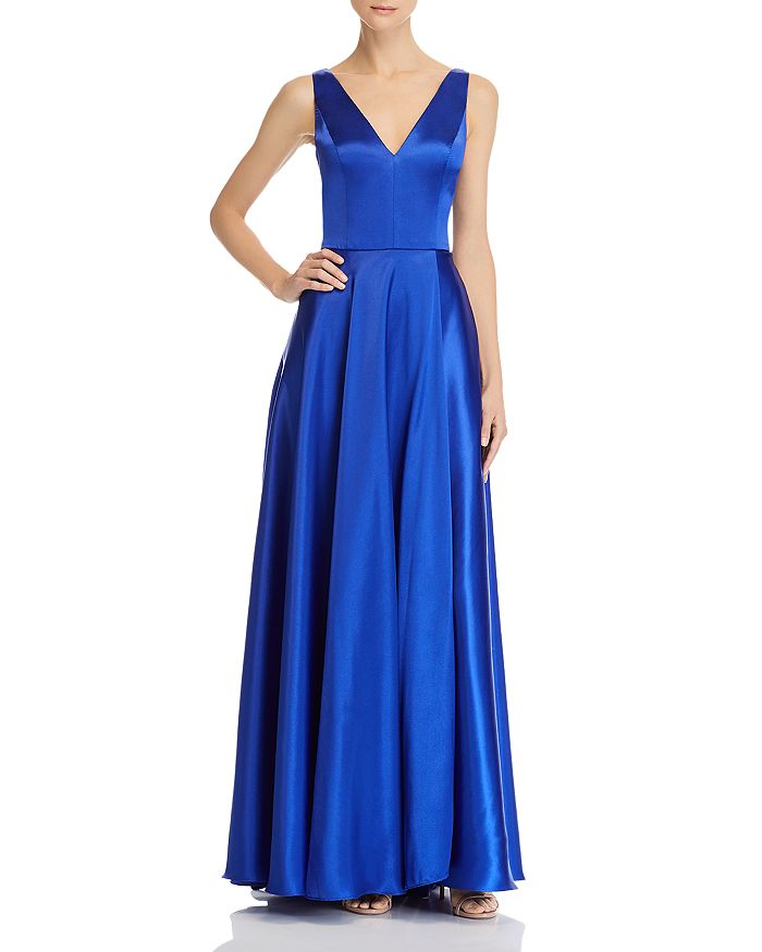 AQUA - Charmeuse Gown - 100% Exclusive