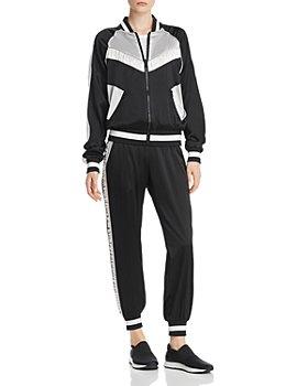Blanc Noir - Amida Color-Block Jacket & Kami Jogger Pants