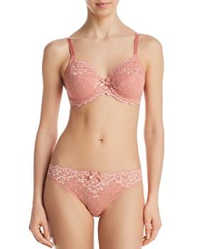 4886a8cbdfe Chantelle - Rive Gauche Unlined Underwire Bra & Bikini ...