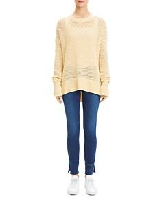 Theory - Karenia Crochet Sweater