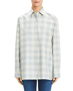 Theory - Gingham Classic Menswear Shirt