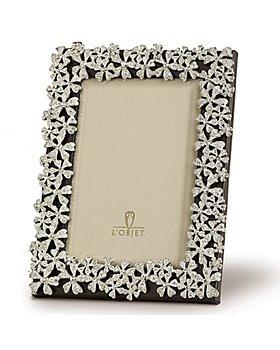 L'Objet - L'Objet Platinum Garland Frames