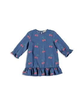 Stella McCartney - Girls' Cherries Ruffled Denim Dress - Baby