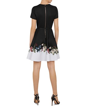 5437cbbd17cff ... Ted Baker - Chestna Oracle Skater Dress
