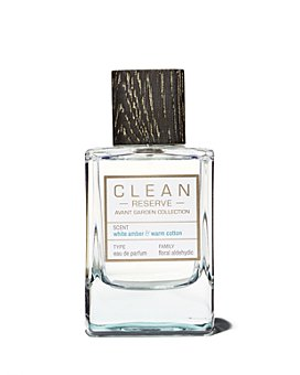 CLEAN Reserve Avant Garden Collection - White Amber & Warm Cotton Eau de Parfum 3.4 oz.