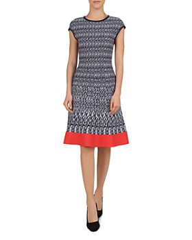 1ddd14be61ce3 Gerard Darel - Graig A-Line Jacquard Dress ...