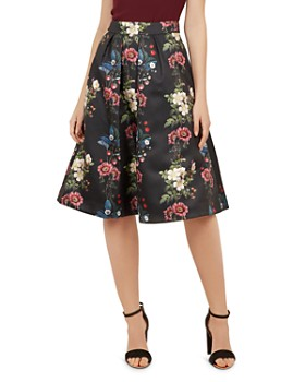 040153c8c8d0fa Ted Baker - Bevly Oracle Floral-Jacquard Skirt ...
