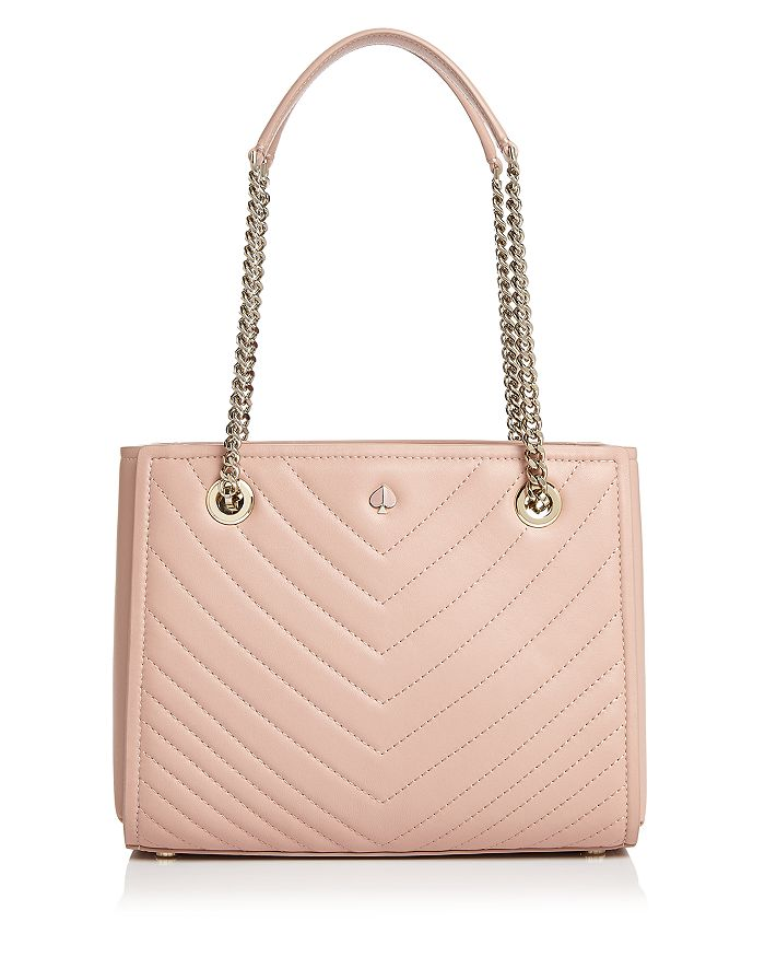 d3033c0d5 kate spade new york Small Quilted Leather Tote | Bloomingdale's