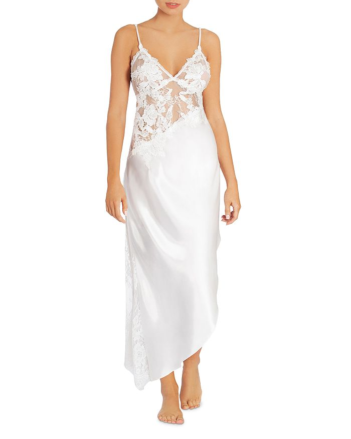 Jonquil - Satin & Lace Nightgown