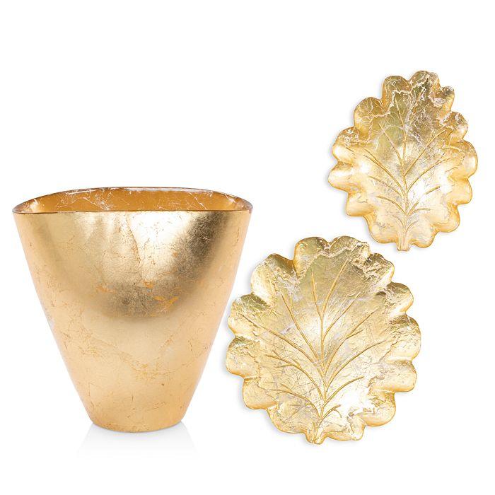 VIETRI - Moon Glass Leaf Collection
