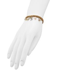 Chan Luu - Cultured Freshwater Pearl & Shell Charm Bracelet
