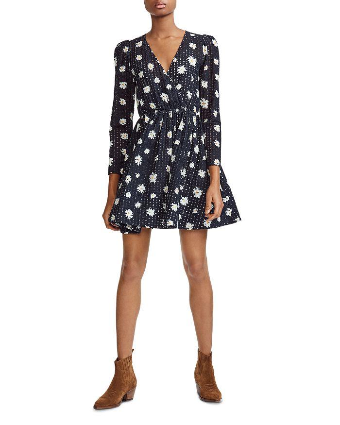 5a30cb1515ed Maje Rayom Daisy Print Eyelet Dress | Bloomingdale's