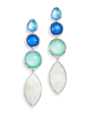 Ippolita Sterling Silver Wonderland Mother-of-Pearl Doublet Drop Earrings