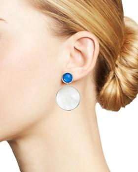 IPPOLITA - Sterling Silver Wonderland Mother-of-Pearl Doublet Drop Earrings