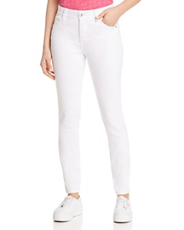 JAG Jeans - Cecilia High-Rise Skinny Jeans in White