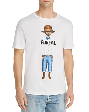 Elevenparis Tops FURREAL GRAPHIC TEE