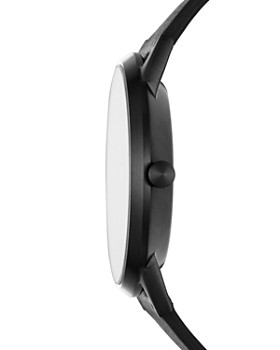 Skagen - Kristoffer Black Leather Strap Watch, 42mm