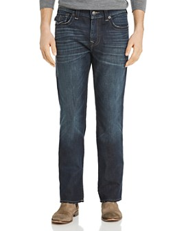 True Religion - Ricky Flap Straight Fit Jeans in Dark Axle