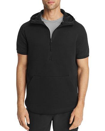 Under Armour - Unstoppable Move Light Short-Sleeve Hooded Sweatshirt