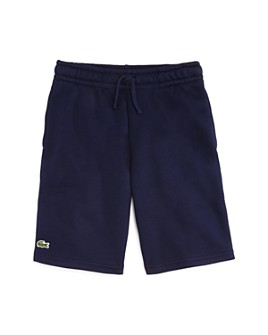 Lacoste - Boys' Logo Fleece Shorts - Little Kid, Big Kid