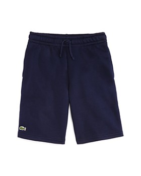 Lacoste - Boys' Logo Fleece Shorts - Little Kid, Big Kid