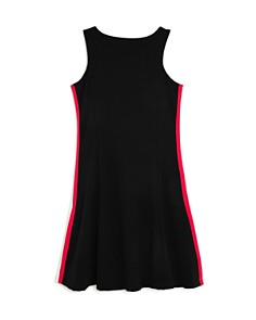AQUA - Girls' Athletic-Striped Dress, Big Kid - 100% Exclusive