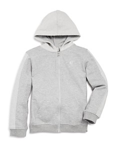 Mini Series - Boys' Heathered-Terry Zip Hoodie - 100% Exclusive