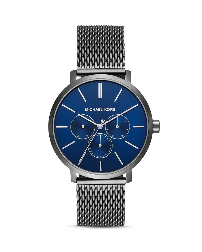 Michael Kors - Blake Gunmetal Mesh Bracelet Watch, 42mm