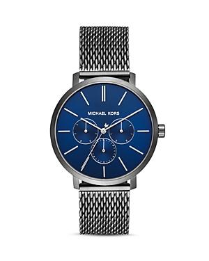 Michael Kors Blake Gunmetal Mesh Bracelet Watch, 42mm