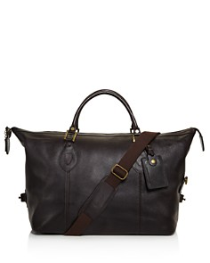 Barbour - Leather Medium Travel Explorer Duffel