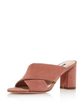 0b49563372d Stuart Weitzman - Women s Galene Block Heel Sandals ...