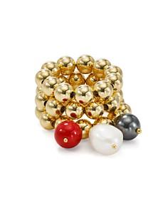 Beck Jewels - Allegra Zanzi Stackable Rings, Set of 3