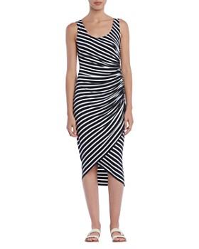 Bailey 44 - Objet D'Art Ruched Striped Dress