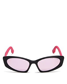 MARC JACOBS - Women's Mirrored Cat Eye Sunglasses, 54mm