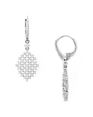 Nadri Lattice Drop Earrings-Jewelry & Accessories