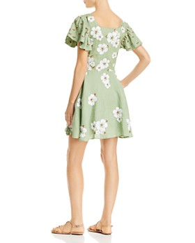 All Things Mochi - Kay Floral-Embroidered Dress
