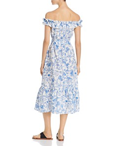 Tory Burch - Off-the-Shoulder Printed Dress
