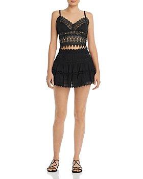 Charo Ruiz Ibiza - Lace Top & Tiered Skirt