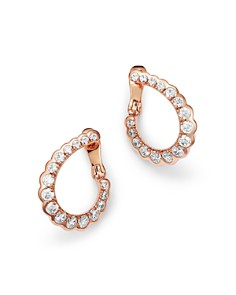 Bloomingdale's - Graduated Diamond Front-to-Back Earrings in 14K Rose Gold, 0.75 ct. t.w. - 100% Exclusive