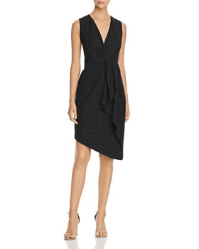 1f8a8f3bd3be6 Elie Tahari - Adrianne Sleeveless Checked Dress ...